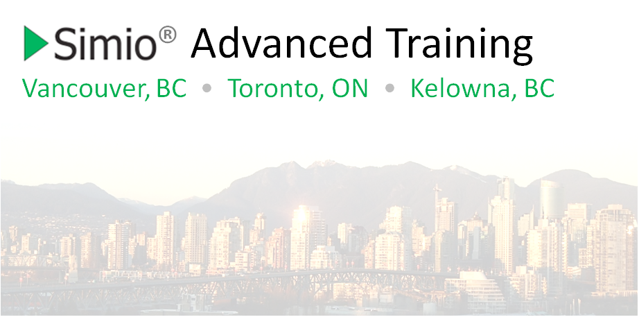 Simio Advanced Training